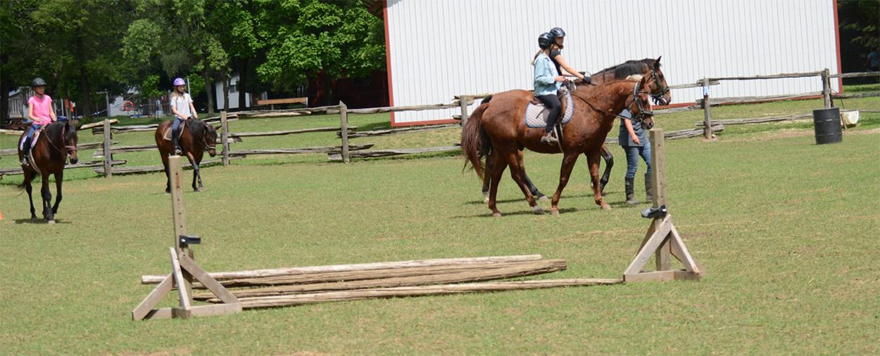Equestrian at Camp Cherith