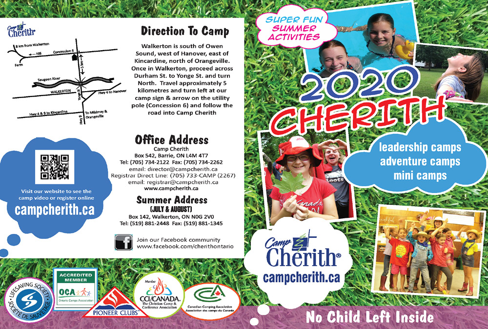 Camp Cherith Brochure